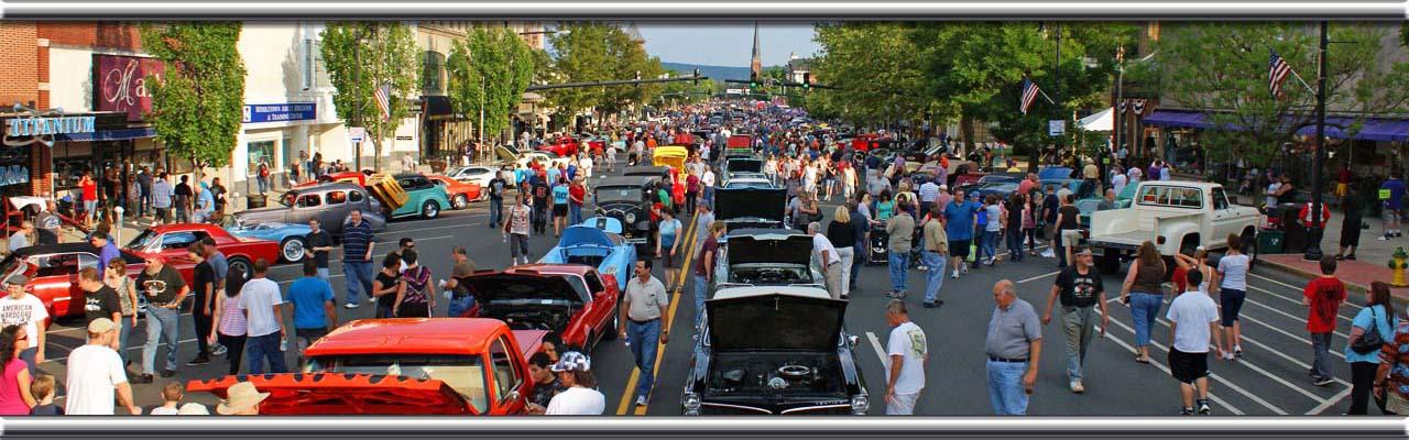 Main Street Catches FourWheel Fever Cruisin Photography - Main street car show